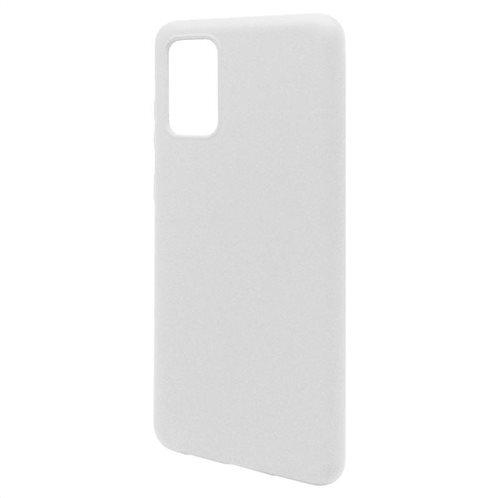 Θήκη Liquid Silicon inos Samsung G985 Galaxy S20 Plus L-Cover Λευκό