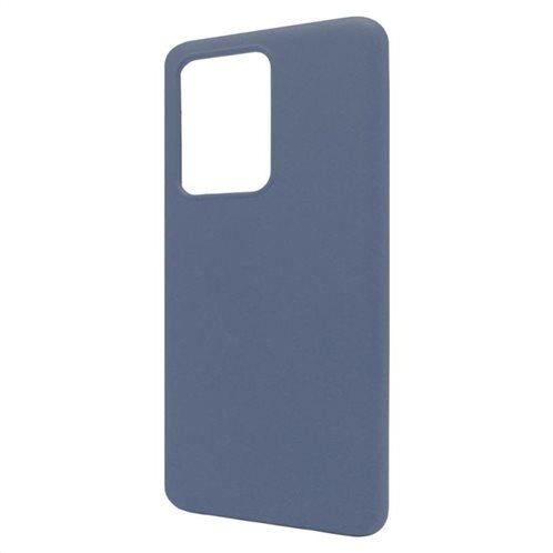 Θήκη Liquid Silicon inos Samsung G988 Galaxy S20 Ultra L-Cover Μπλε Ραφ
