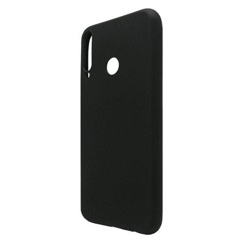 Θήκη Liquid Silicon inos Huawei P40 Lite E L-Cover Μαύρο