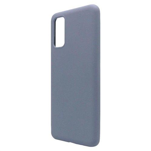 Θήκη Liquid Silicon inos Samsung G980 Galaxy S20 L-Cover Γκρι-Μπλε