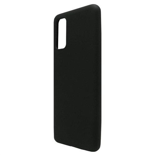 Θήκη Liquid Silicon inos Samsung G980 Galaxy S20 L-Cover Μαύρο