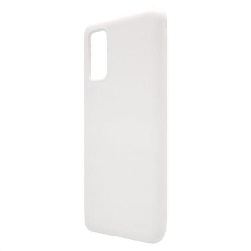 Θήκη Liquid Silicon inos Samsung G980 Galaxy S20 L-Cover Λευκό