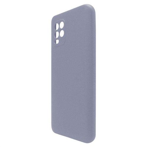 Θήκη Liquid Silicon inos Xiaomi Mi 10 Lite L-Cover Γκρι-Μπλε