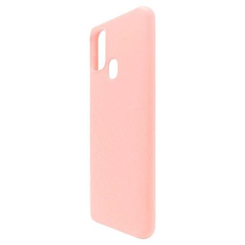 Θήκη Liquid Silicon inos Samsung A217F Galaxy A21s L-Cover Σομόν