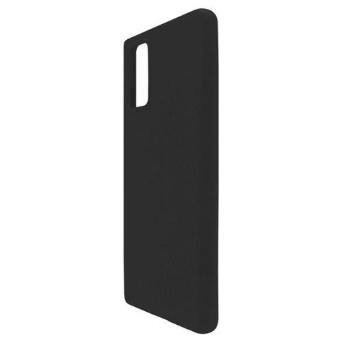 Θήκη Liquid Silicon inos Samsung N980F Galaxy Note 20 L-Cover Μαύρο