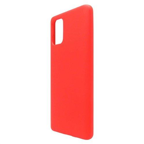 Θήκη Liquid Silicon inos Samsung A715F Galaxy A71 L-Cover Κόκκινο