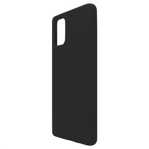 Θήκη Liquid Silicon inos Samsung A715F Galaxy A71 L-Cover Μαύρο