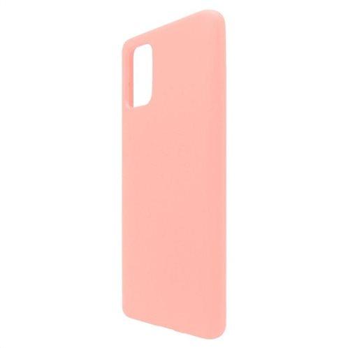 Θήκη Liquid Silicon inos Samsung A715F Galaxy A71 L-Cover Σομόν