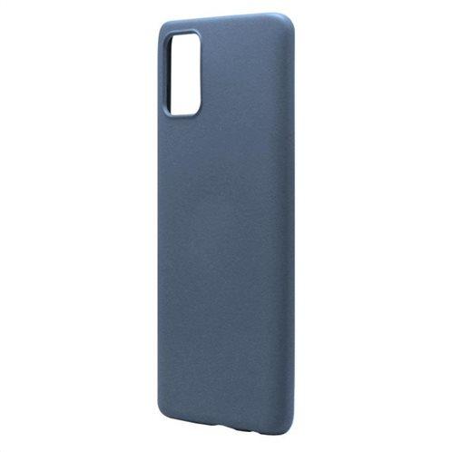 Θήκη Liquid Silicon inos Samsung A715F Galaxy A71 L-Cover Μπλε Ραφ
