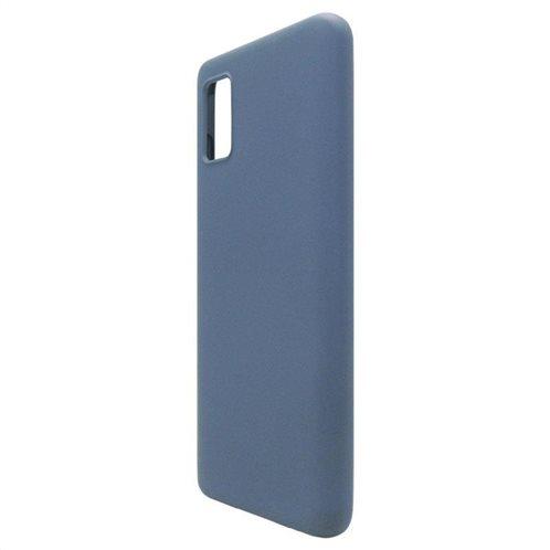 Θήκη Liquid Silicon inos Samsung A415F Galaxy A41 L-Cover Μπλε Ραφ