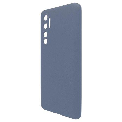 Θήκη Liquid Silicon inos Xiaomi Mi Note 10 Lite L-Cover Μπλε Ραφ