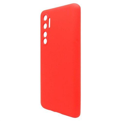 Θήκη Liquid Silicon inos Xiaomi Mi Note 10 Lite L-Cover Κόκκινο