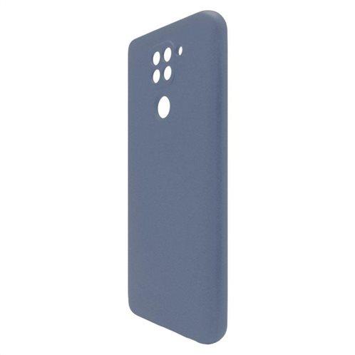 Θήκη Liquid Silicon inos Xiaomi Redmi Note 9 L-Cover Μπλε Ραφ