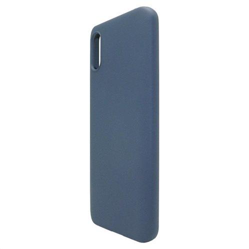 Θήκη Liquid Silicon inos Xiaomi Redmi 9A L-Cover Μπλε Ραφ