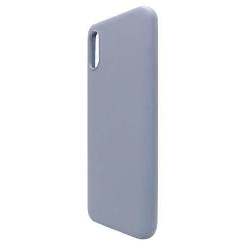 Θήκη Liquid Silicon inos Xiaomi Redmi 9A L-Cover Γκρι-Μπλε