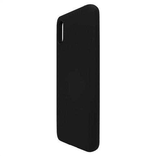Θήκη Liquid Silicon inos Xiaomi Redmi 9A L-Cover Μαύρο