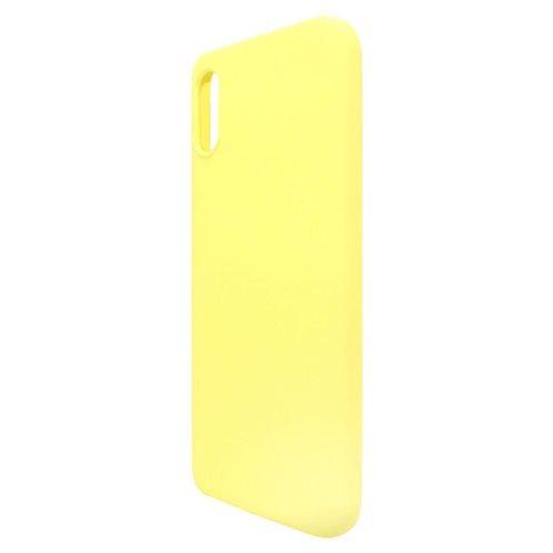 Θήκη Liquid Silicon inos Xiaomi Redmi 9A L-Cover Κίτρινο