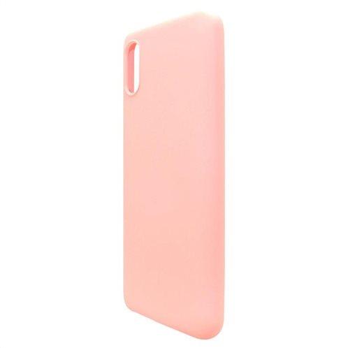 Θήκη Liquid Silicon inos Xiaomi Redmi 9A L-Cover Σομόν