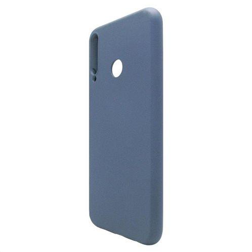 Θήκη Liquid Silicon inos Huawei P40 Lite E L-Cover Μπλε Ραφ