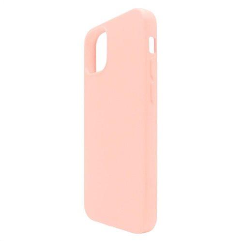 Θήκη Liquid Silicon inos Apple iPhone 12 mini L-Cover Σομόν