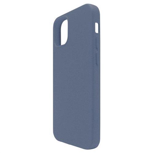 Θήκη Liquid Silicon inos Apple iPhone 12/ 12 Pro L-Cover Μπλε Ραφ