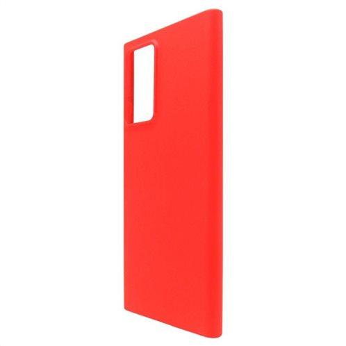 Θήκη Liquid Silicon inos Samsung N985F Galaxy Note 20 Ultra L-Cover Κόκκινο