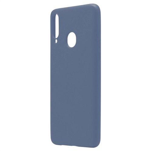 Θήκη Liquid Silicon inos Samsung A207F Galaxy A20s L-Cover Μπλε Ραφ