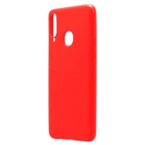Θήκη Liquid Silicon inos Samsung A207F Galaxy A20s L-Cover Κόκκινο