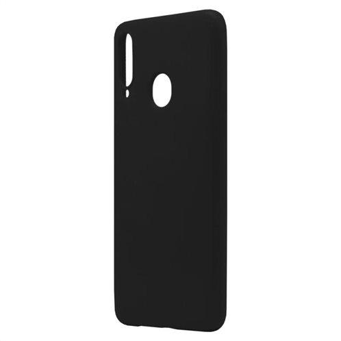 Θήκη Liquid Silicon inos Samsung A207F Galaxy A20s L-Cover Μαύρο