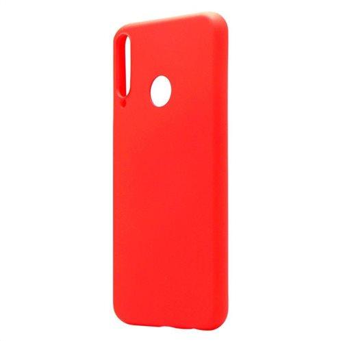 Θήκη Liquid Silicon inos Huawei P40 Lite E L-Cover Κόκκινο