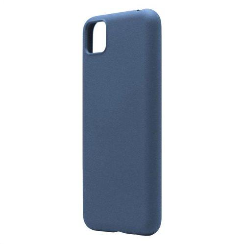 Θήκη Liquid Silicon inos Huawei Y5p L-Cover Μπλε Ραφ