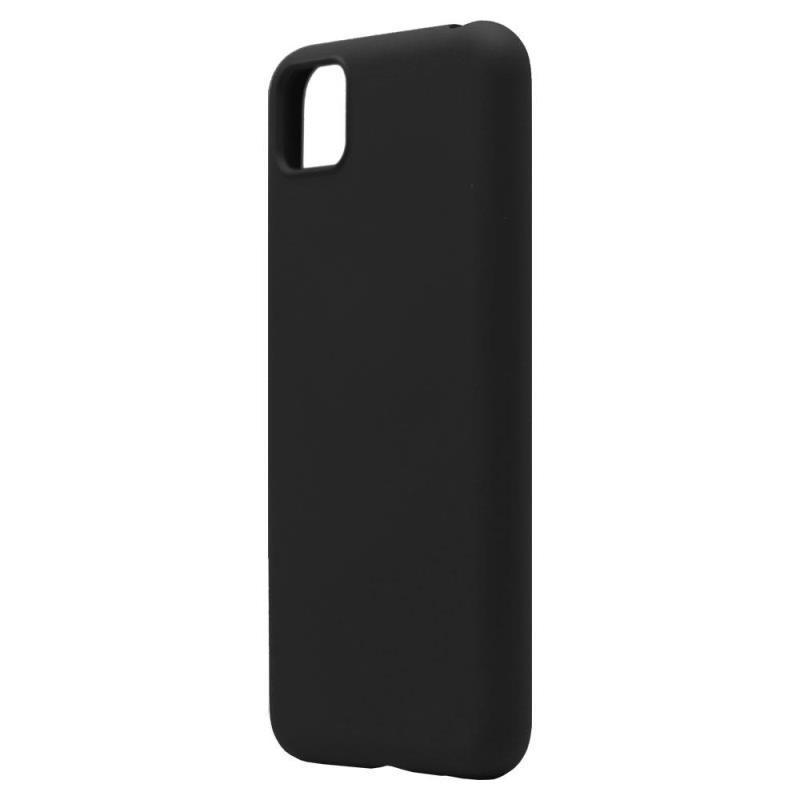 Θήκη Liquid Silicon inos Huawei Y5p L-Cover Μαύρο