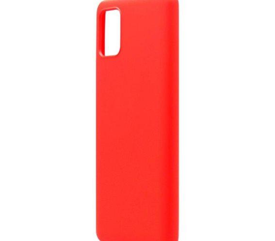 Θήκη Liquid Silicon inos Samsung A315F Galaxy A31 L-Cover Κόκκινο