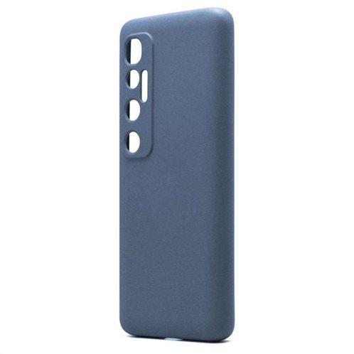 Θήκη Liquid Silicon inos Xiaomi Mi 10 Ultra L-Cover Μπλε Ραφ
