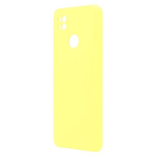 Θήκη Liquid Silicon inos Xiaomi Redmi 9C L-Cover Κίτρινο