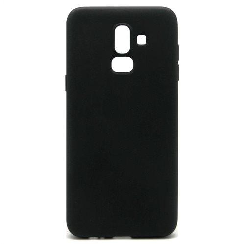 Soft TPU inos Samsung J800F Galaxy J8 (2018) S-Cover Black