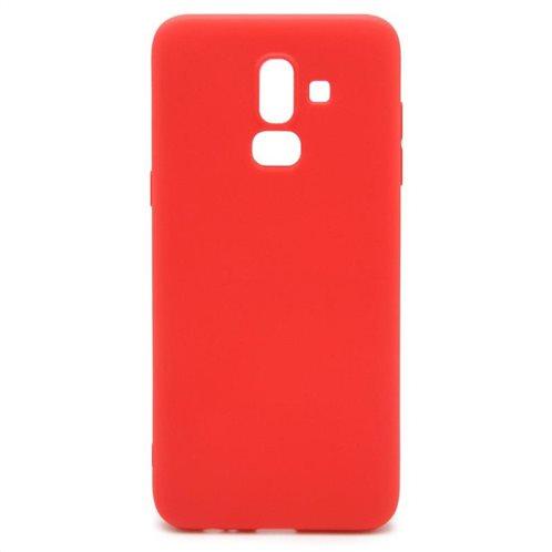 Soft TPU inos Samsung J800F Galaxy J8 (2018) S-Cover Red