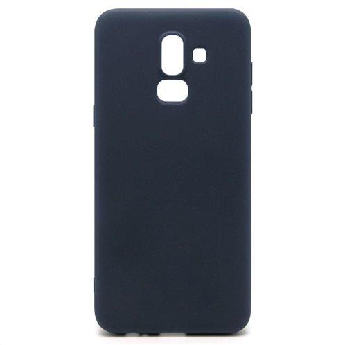Soft TPU inos Samsung J800F Galaxy J8 (2018) S-Cover Blue