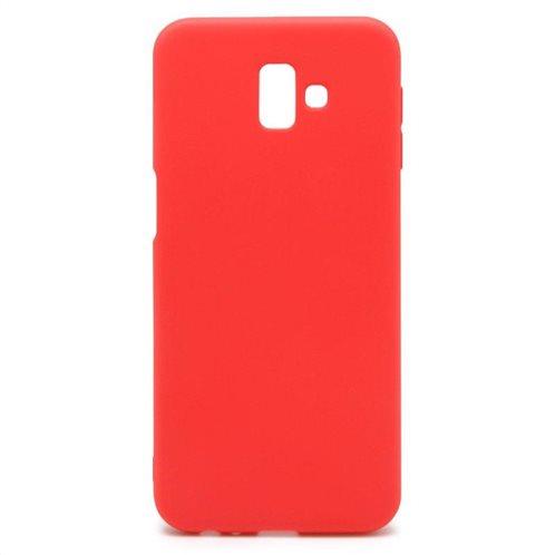 Soft TPU inos Samsung J610F Galaxy J6 Plus (2018) S-Cover Red