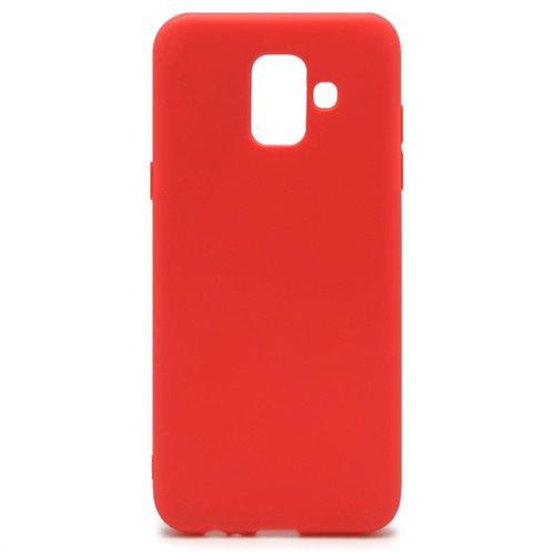 Soft TPU inos Samsung J600F Galaxy J6 (2018) S-Cover Red