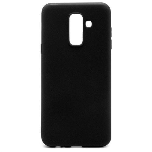 Soft TPU inos Samsung A605F Galaxy A6 Plus (2018) S-Cover Black