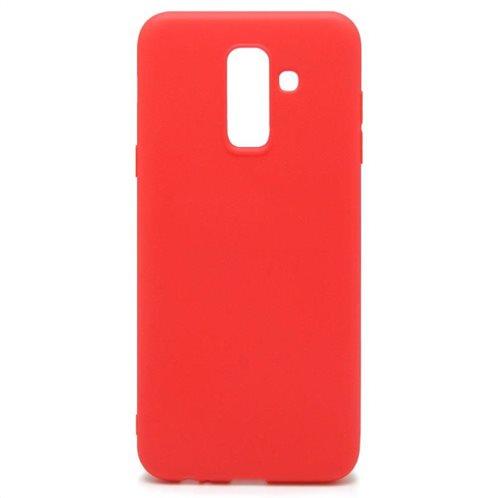 Soft TPU inos Samsung A605F Galaxy A6 Plus (2018) S-Cover Red
