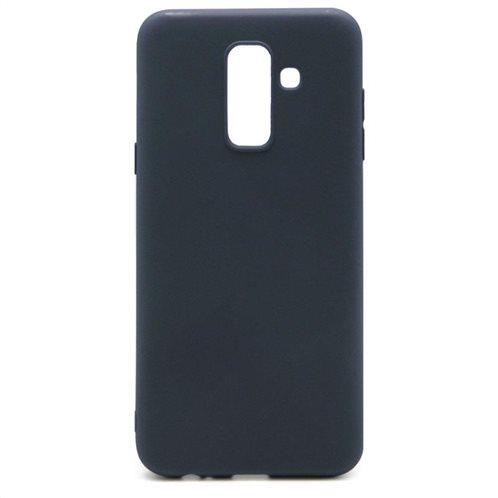 Soft TPU inos Samsung A605F Galaxy A6 Plus (2018) S-Cover Blue