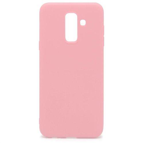Soft TPU inos Samsung A605F Galaxy A6 Plus (2018) S-Cover Pink