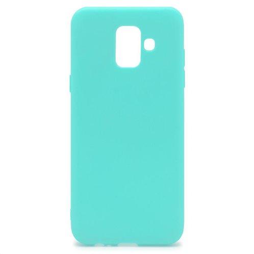Soft TPU inos Samsung A530F Galaxy A8 (2018) S-Cover Mint-Green