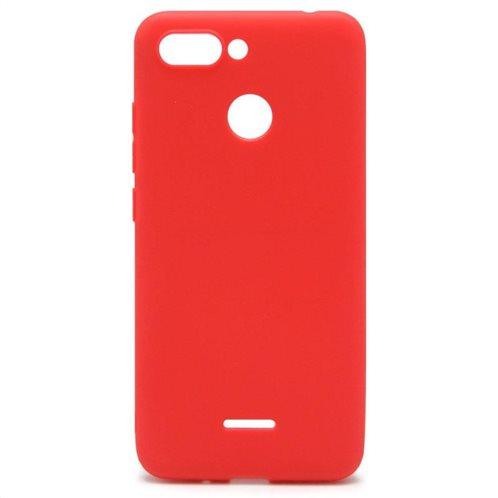 Soft TPU inos Xiaomi Redmi 6 S-Cover Red