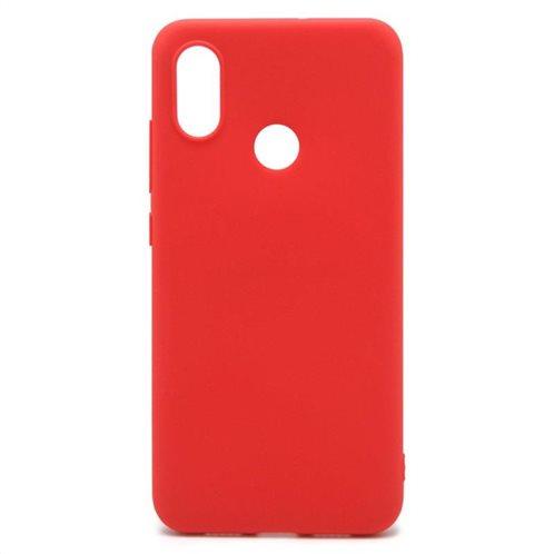 Soft TPU inos Xiaomi Mi 8 S-Cover Red