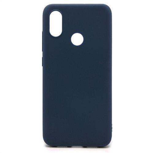 Soft TPU inos Xiaomi Mi 8 S-Cover Blue