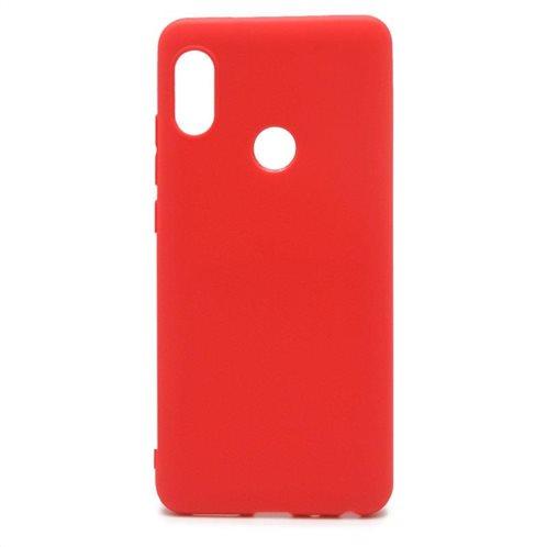 Soft TPU inos Xiaomi Redmi Note 5 Pro S-Cover Red
