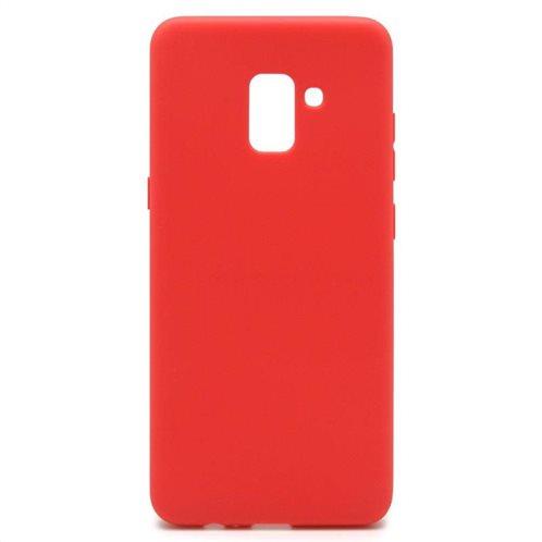 Soft TPU inos Samsung A730F Galaxy A8 Plus (2018) S-Cover Red